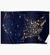 USA space Poster