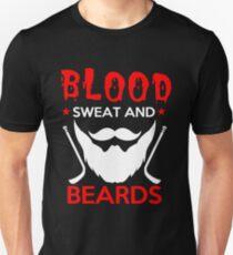 Beard Blood Sweat And Beards Unisex T-Shirt