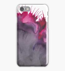 Abstract watercolor purple texture  iPhone Case/Skin