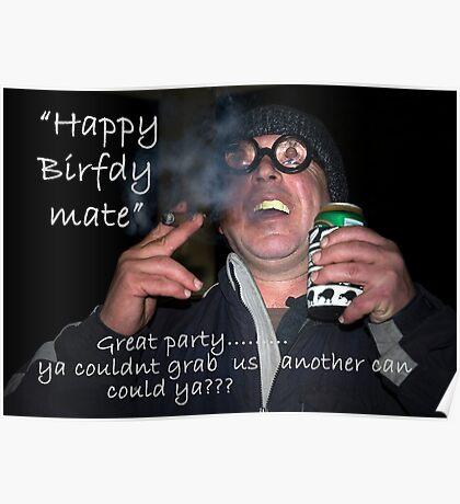 Happy Birfdy Poster