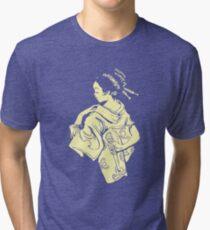 Evil Geisha Tri-blend T-Shirt