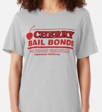 Cherry Bail Bonds Slim Fit T-Shirt