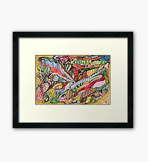 Ink Journey Framed Print