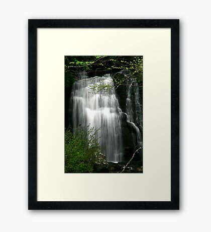 Meigs Falls II  Framed Print