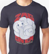 Zag On 'Em (Twenty Serpentine) Unisex T-Shirt