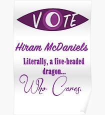 Vote (Hiram McDaniels) Poster