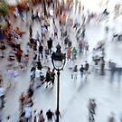 Place D'Angel, Barcelona - People by jookboy