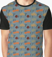 Lindy Hop till we Drop // Blue Graphic T-Shirt