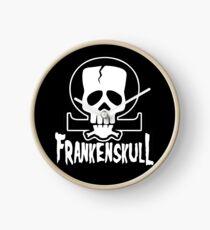FrankenSkull Ohm Logo Small Clock