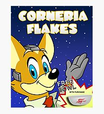 CORNeria Flakes Photographic Print