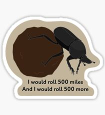Dungbeetle Sticker