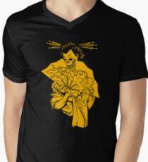 Geisha of Death Mens V-Neck T-Shirt