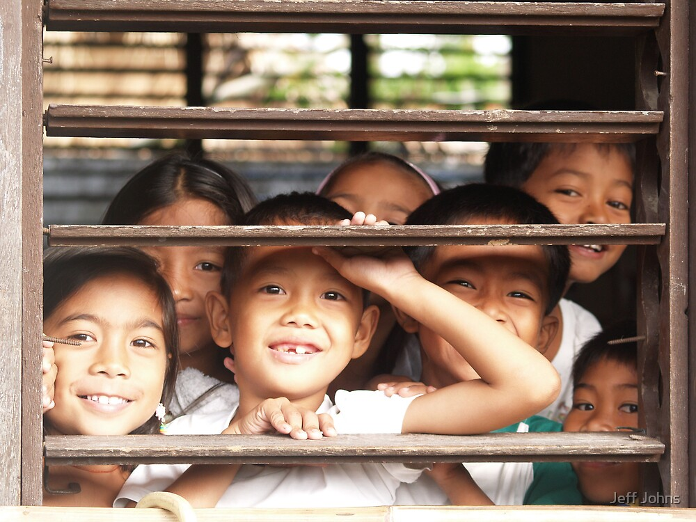 Happy Children 2 by Jeff Johns