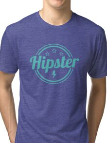 Hipster Sign Tri-blend T-Shirt