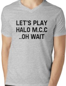Halo Master Cheif Collection Mens V-Neck T-Shirt