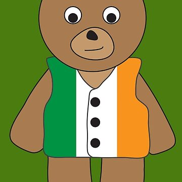 Ireland Bear by grizzlygifts
