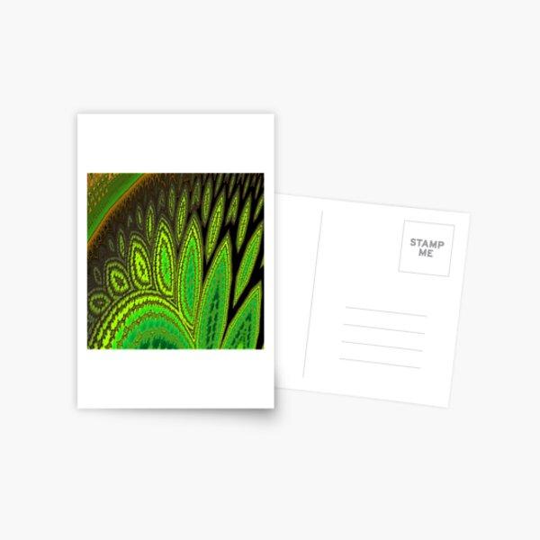 Drifting Leaves Postcard