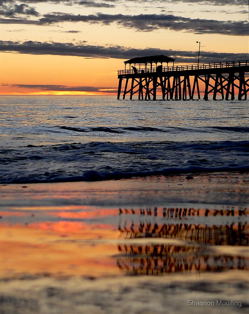 Reflections of Sunset by Shannon Mowling