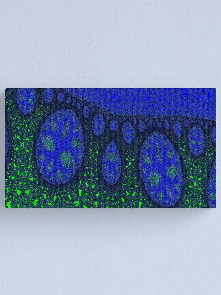 Alternate view of Night Forest Canvas Print