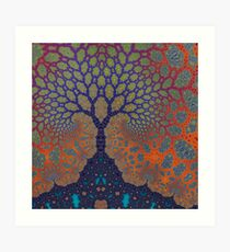 Inner Life of a Tree Art Print