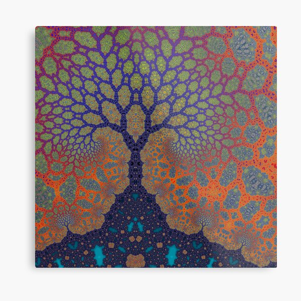 Inner Life of a Tree Metal Print