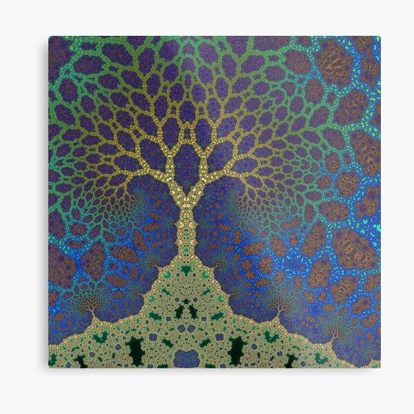 Inner Life of a Tree 2 Metal Print