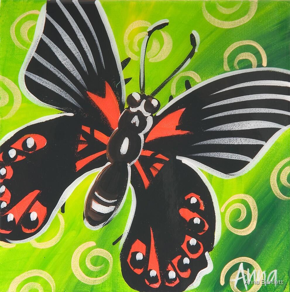 Butterfly 2 by Anna Bartlett