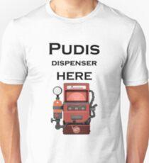 Put this dispenser here Unisex T-Shirt