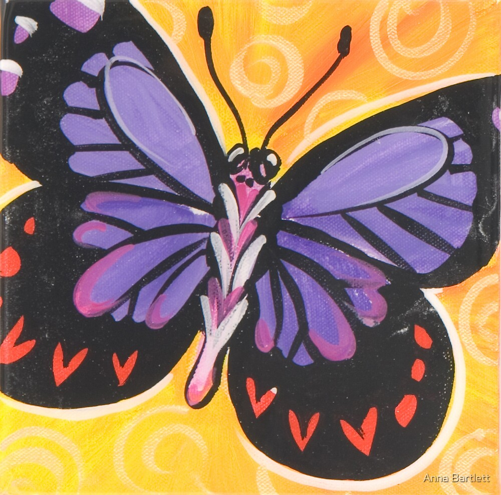 Butterfly 9 by Anna Bartlett