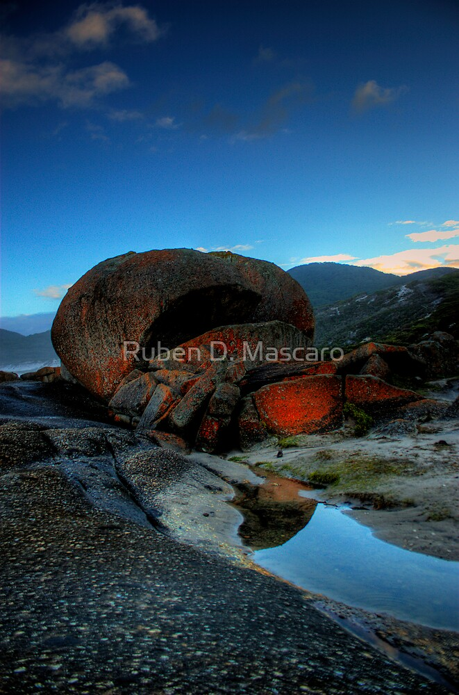 Solid Rock by Ruben D. Mascaro