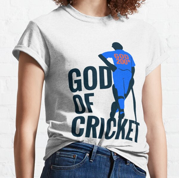 Sachin Tendulkar God of cricket Classic T-Shirt
