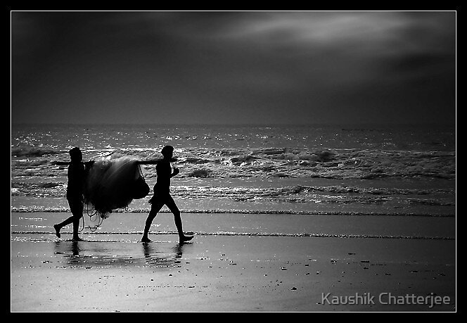 Fishermen by Kaushik Chatterjee