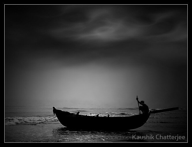 The Boat by Kaushik Chatterjee