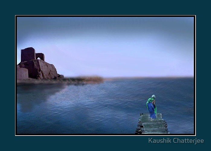 The Old Lady by Kaushik Chatterjee