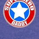 Superheld Papa von JCDesignsUK