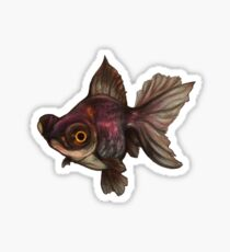 Bug-Eyed Goldfish Sticker