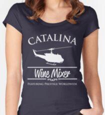 Catalina Wine Mixer Prestige Worldwide Women's Fitted Scoop T-Shirt