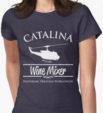 Catalina Wine Mixer Prestige Worldwide Women's Fitted T-Shirt
