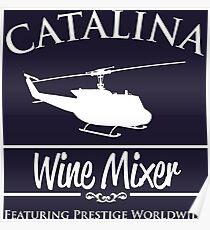 Catalina Wein Mixer Prestige weltweit Poster