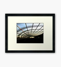 Driven #1: Belly Of A Snake Framed Print
