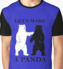 Let's Make A Panda tshirt Graphic T-Shirt