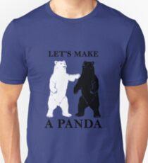 Let's Make A Panda tshirt Unisex T-Shirt