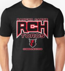 Rancho Carne Toros Cheerleading Slim Fit T-Shirt