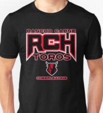 Rancho Carne Toros Cheerleading Unisex T-Shirt