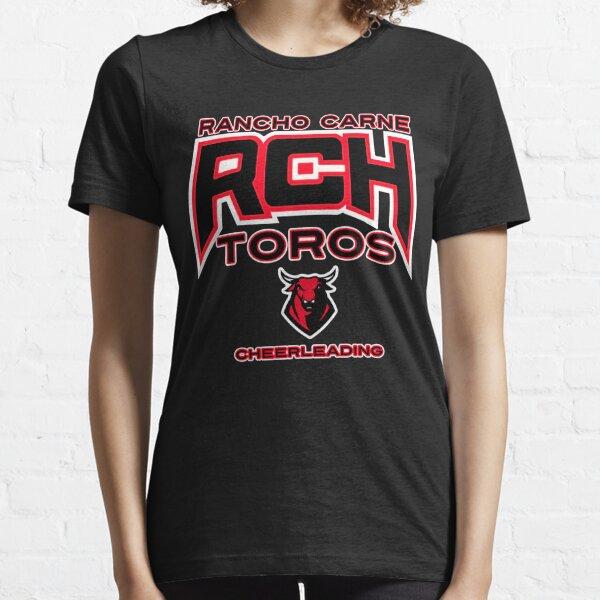 Cheerleader girl/'s cheer tee Football tee cheer personalized cheer shirt Sports tee school spirit Megaphone tee Pom Poms Cheer Tee