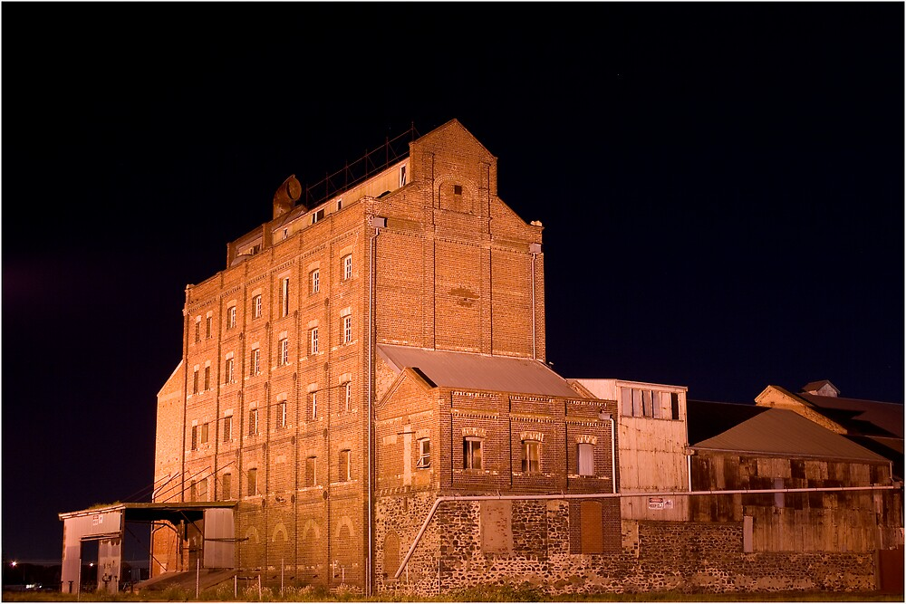 Adelaide Flour Mill by Peter Ede