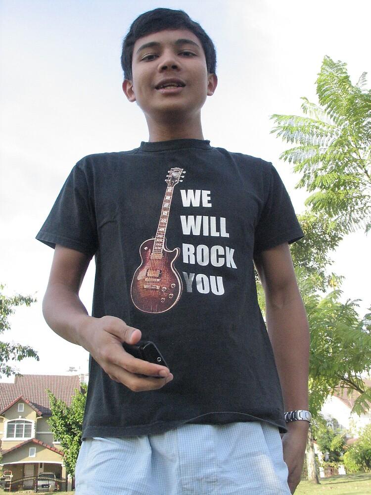 baby,u rock my world:) by twosouls