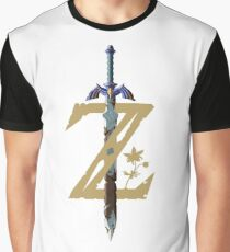 The Legend of Zelda: Breath of the Wild Z Graphic T-Shirt