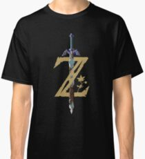 Camiseta clásica The Legend of Zelda: Breath of the Wild Z