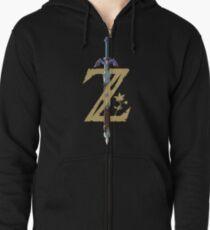 The Legend of Zelda: Breath of the Wild Z Zipped Hoodie